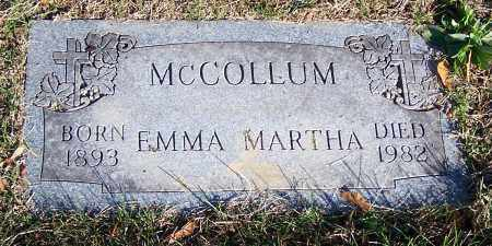 MCCOLLUM, EMMA MARTHA - Stark County, Ohio | EMMA MARTHA MCCOLLUM - Ohio Gravestone Photos