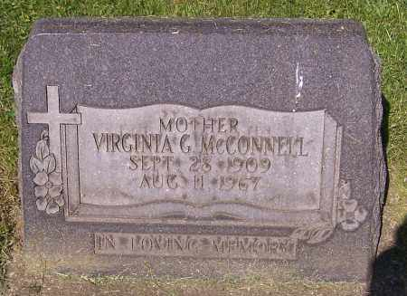MCCONNELL, VIRGINIA G. - Stark County, Ohio | VIRGINIA G. MCCONNELL - Ohio Gravestone Photos