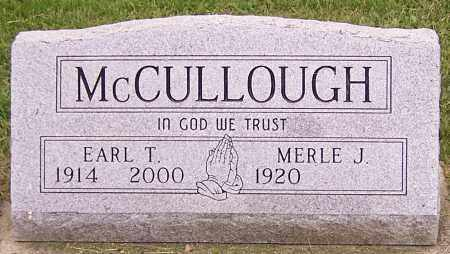 MCCULLOUGH, MERLE J. - Stark County, Ohio | MERLE J. MCCULLOUGH - Ohio Gravestone Photos