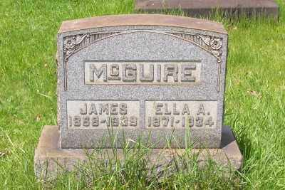 MCGUIRE, JAMES - Stark County, Ohio | JAMES MCGUIRE - Ohio Gravestone Photos