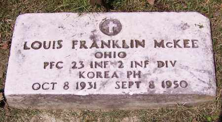 MCKEE, LOUIS FRANKLIN - Stark County, Ohio | LOUIS FRANKLIN MCKEE - Ohio Gravestone Photos