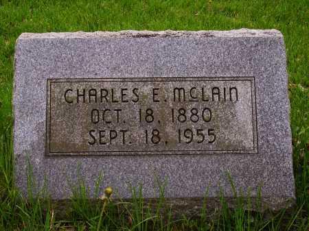MCLAIN, CHARLES E. - Stark County, Ohio | CHARLES E. MCLAIN - Ohio Gravestone Photos