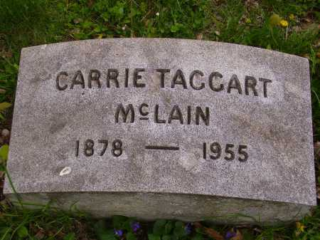 TAGGART MCLAIN, CARRIE - Stark County, Ohio | CARRIE TAGGART MCLAIN - Ohio Gravestone Photos