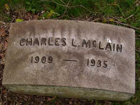 MCLAIN, CHARLES L. - Stark County, Ohio | CHARLES L. MCLAIN - Ohio Gravestone Photos