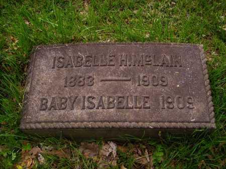 MCLAIN, ISABELLE H. - Stark County, Ohio | ISABELLE H. MCLAIN - Ohio Gravestone Photos