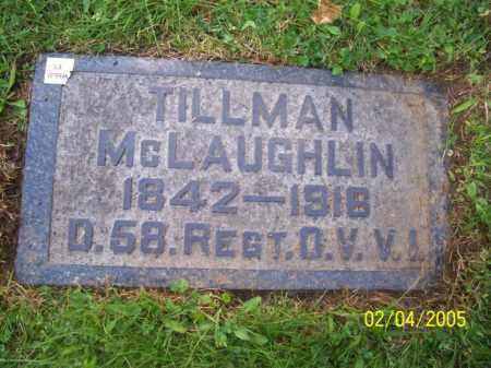 MCLAUGHLIN, TILLMAN - Stark County, Ohio | TILLMAN MCLAUGHLIN - Ohio Gravestone Photos
