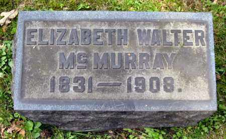 WALTER MCMURRAY, ELIZABETH - Stark County, Ohio | ELIZABETH WALTER MCMURRAY - Ohio Gravestone Photos