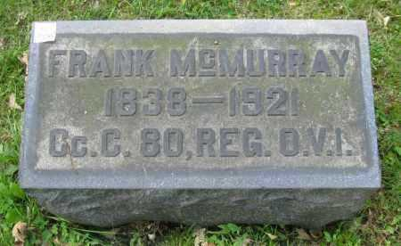 MCMURRAY, FRANK - Stark County, Ohio | FRANK MCMURRAY - Ohio Gravestone Photos
