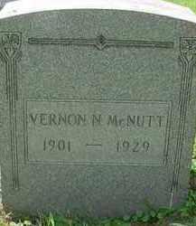 MCNUTT, VERNON N - Stark County, Ohio | VERNON N MCNUTT - Ohio Gravestone Photos