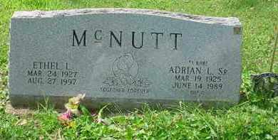MCNUTT, ETHEL L. - Stark County, Ohio | ETHEL L. MCNUTT - Ohio Gravestone Photos