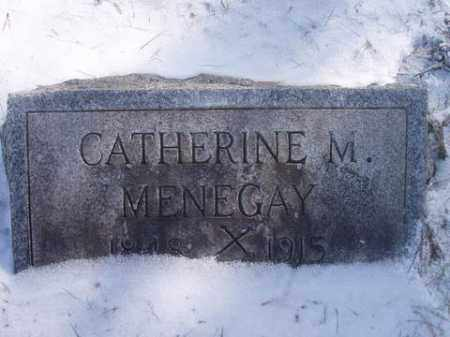 MENEGAY, CATHERINE  M. - Stark County, Ohio | CATHERINE  M. MENEGAY - Ohio Gravestone Photos