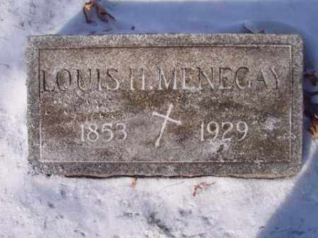 MENEGAY, LOUIS  H. - Stark County, Ohio | LOUIS  H. MENEGAY - Ohio Gravestone Photos