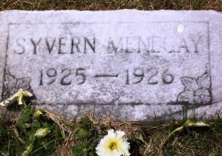 MENEGAY, SYVERN - Stark County, Ohio | SYVERN MENEGAY - Ohio Gravestone Photos