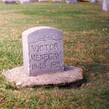 MENEGAY, VICTOR - Stark County, Ohio | VICTOR MENEGAY - Ohio Gravestone Photos