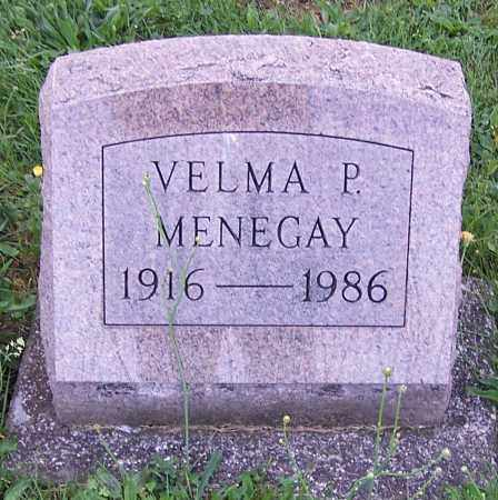 MENEGAY, VELMA P. - Stark County, Ohio | VELMA P. MENEGAY - Ohio Gravestone Photos