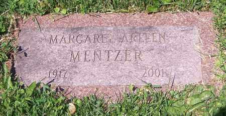 MENTZER, MARGARET ARLLEN - Stark County, Ohio | MARGARET ARLLEN MENTZER - Ohio Gravestone Photos