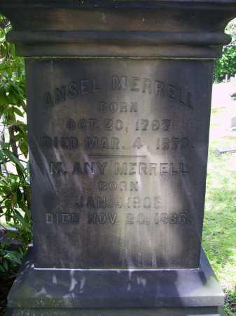 MERRELL, ANSEL - Stark County, Ohio | ANSEL MERRELL - Ohio Gravestone Photos