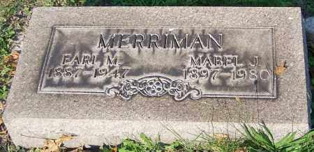 MERRIMAN, MABLE J. - Stark County, Ohio | MABLE J. MERRIMAN - Ohio Gravestone Photos