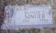 MERRYMAN SINGER, BLANCHE E. - Stark County, Ohio | BLANCHE E. MERRYMAN SINGER - Ohio Gravestone Photos