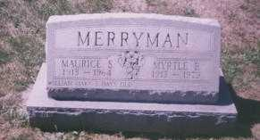 HOUSLEY MERRYMAN, MYRTLE B. - Stark County, Ohio | MYRTLE B. HOUSLEY MERRYMAN - Ohio Gravestone Photos