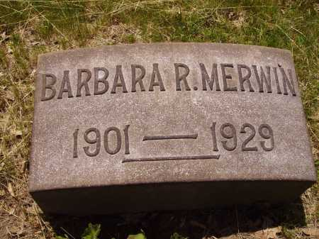 MERWIN, BARBARA R. - Stark County, Ohio | BARBARA R. MERWIN - Ohio Gravestone Photos
