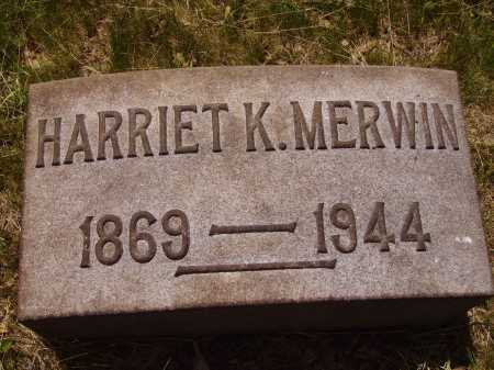 KNAPP MERWIN, HARRIET - Stark County, Ohio | HARRIET KNAPP MERWIN - Ohio Gravestone Photos