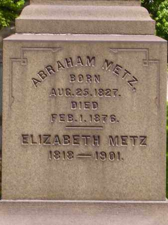 METZ, ABRAHAM - CLOSEVIEW - Stark County, Ohio | ABRAHAM - CLOSEVIEW METZ - Ohio Gravestone Photos