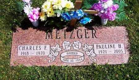 METZGER, PAULINE H. - Stark County, Ohio | PAULINE H. METZGER - Ohio Gravestone Photos