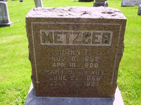 METZGER, MARY S. - Stark County, Ohio | MARY S. METZGER - Ohio Gravestone Photos