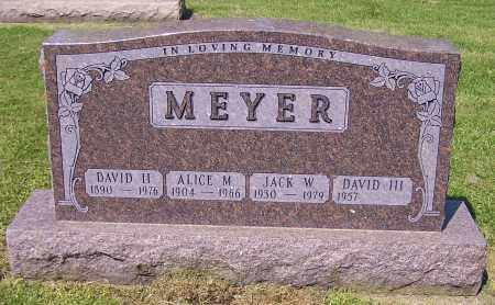 MEYER, DAVID H. - Stark County, Ohio | DAVID H. MEYER - Ohio Gravestone Photos