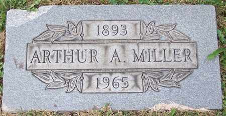 MILLER, ARTHUR A. - Stark County, Ohio | ARTHUR A. MILLER - Ohio Gravestone Photos