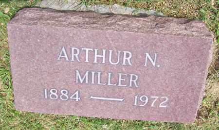 MILLER, ARTHUR N. - Stark County, Ohio | ARTHUR N. MILLER - Ohio Gravestone Photos