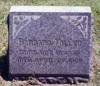 MILLER, BARBARA - Stark County, Ohio | BARBARA MILLER - Ohio Gravestone Photos