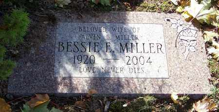 MILLER, BESSIE E. - Stark County, Ohio | BESSIE E. MILLER - Ohio Gravestone Photos