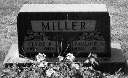 MILLER, CLYDE R. - Stark County, Ohio | CLYDE R. MILLER - Ohio Gravestone Photos