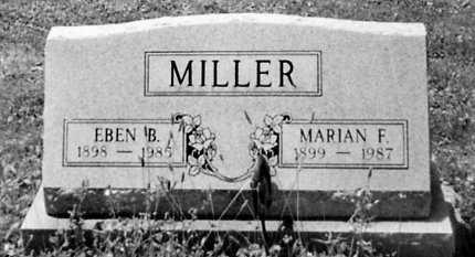 MILLER, EBEN B. - Stark County, Ohio | EBEN B. MILLER - Ohio Gravestone Photos