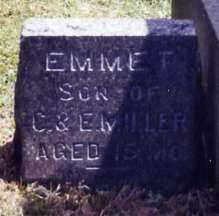 MILLER, EMMET - Stark County, Ohio   EMMET MILLER - Ohio Gravestone Photos