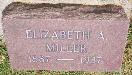 MILLER, ELIZABETH A. - Stark County, Ohio | ELIZABETH A. MILLER - Ohio Gravestone Photos