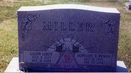 MILLER, GLENN LOREN - Stark County, Ohio | GLENN LOREN MILLER - Ohio Gravestone Photos