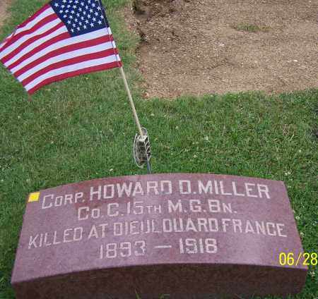 MILLER, HOWARD D. - Stark County, Ohio | HOWARD D. MILLER - Ohio Gravestone Photos