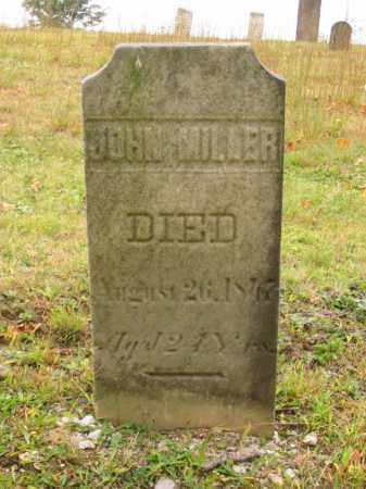MILLER, JOHN - Stark County, Ohio | JOHN MILLER - Ohio Gravestone Photos