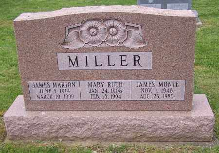 MILLER, JAMES MARION - Stark County, Ohio | JAMES MARION MILLER - Ohio Gravestone Photos
