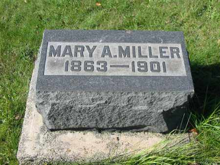 WERTENBERGER MILLER, MARY A - Stark County, Ohio | MARY A WERTENBERGER MILLER - Ohio Gravestone Photos