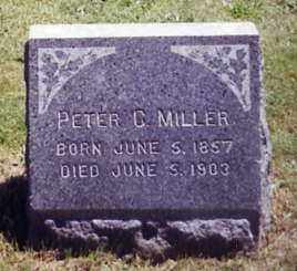 MILLER, PETER C. - Stark County, Ohio | PETER C. MILLER - Ohio Gravestone Photos