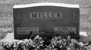 MILLER, ROXIE J. - Stark County, Ohio | ROXIE J. MILLER - Ohio Gravestone Photos