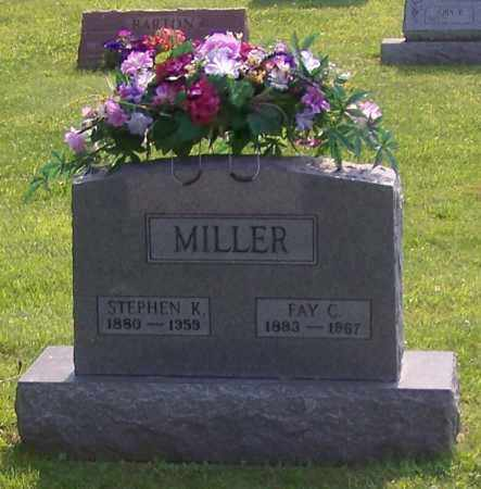 MILLER, STEPHEN K. - Stark County, Ohio | STEPHEN K. MILLER - Ohio Gravestone Photos