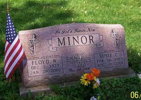 MINOR, FLOYD W. - Stark County, Ohio | FLOYD W. MINOR - Ohio Gravestone Photos