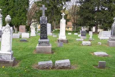 ST.PHILLIPS-ST.JAMES CEMETERY, OVER VIEW - Stark County, Ohio | OVER VIEW ST.PHILLIPS-ST.JAMES CEMETERY - Ohio Gravestone Photos