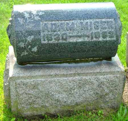 MISER, ADAM - Stark County, Ohio | ADAM MISER - Ohio Gravestone Photos