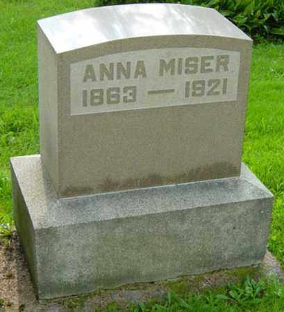 MISER, ANNA - Stark County, Ohio | ANNA MISER - Ohio Gravestone Photos